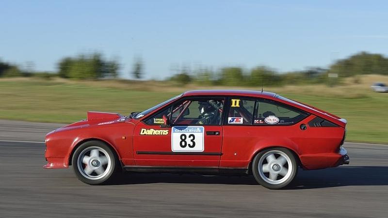 Foto på förarens bil